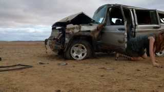 """Road Train"" - Car Crash HD"