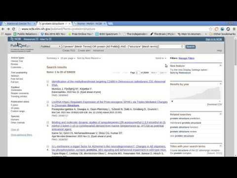 Biological Databases (NCBI & Pubmed)