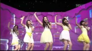 [Live] KARA - Honey (Inkigayo 15.02.2009) HD