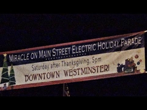 Westminster, MD's Miracle On Main Street Parade & Tree Lighting