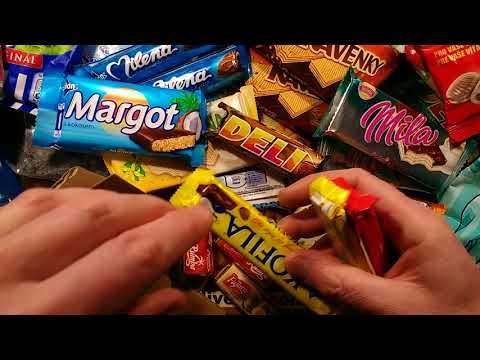 German, Slovak and Czech candy taste test.