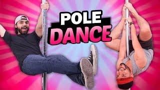 Chicos intentan bailar Pole Dance | Cosas de chicas: Episodio 30