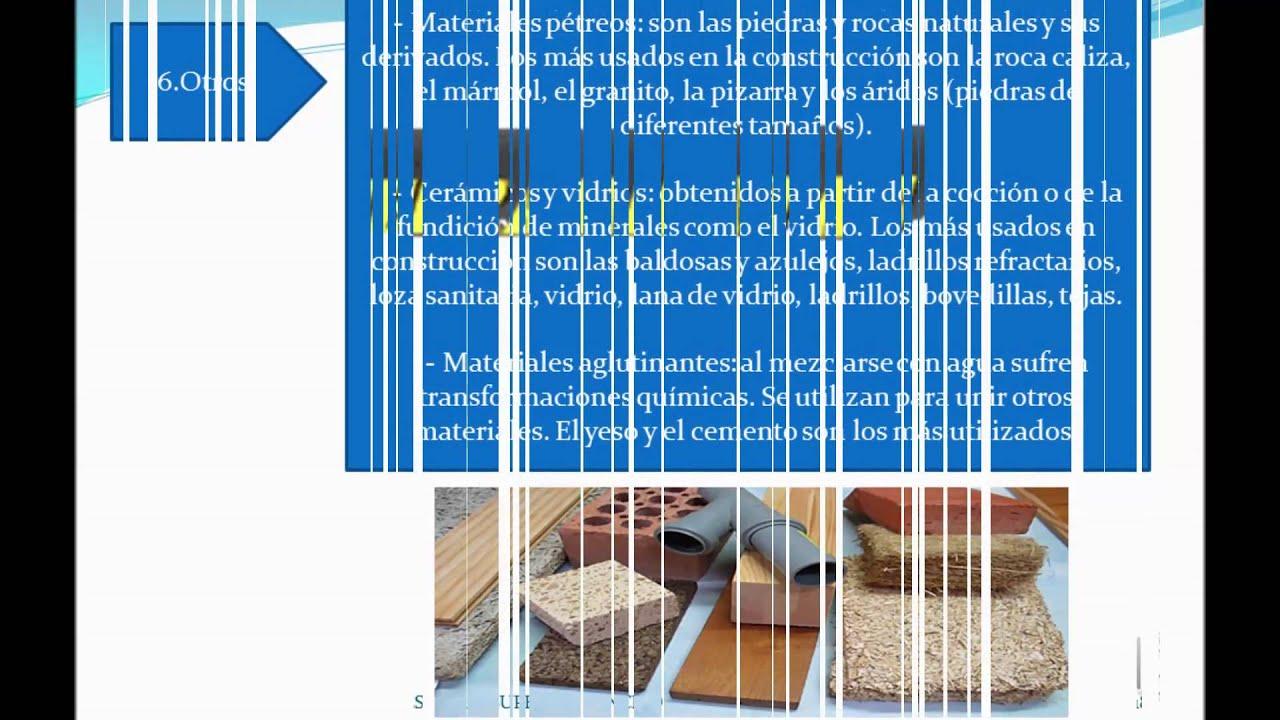 Herramientas y materiales de construccion civil youtube - Materiales de construcion ...