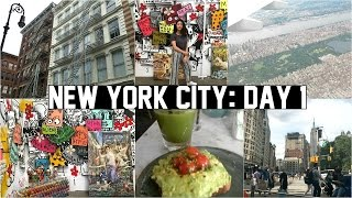 new york city vlog day 1 art gallery shopping soho adventures