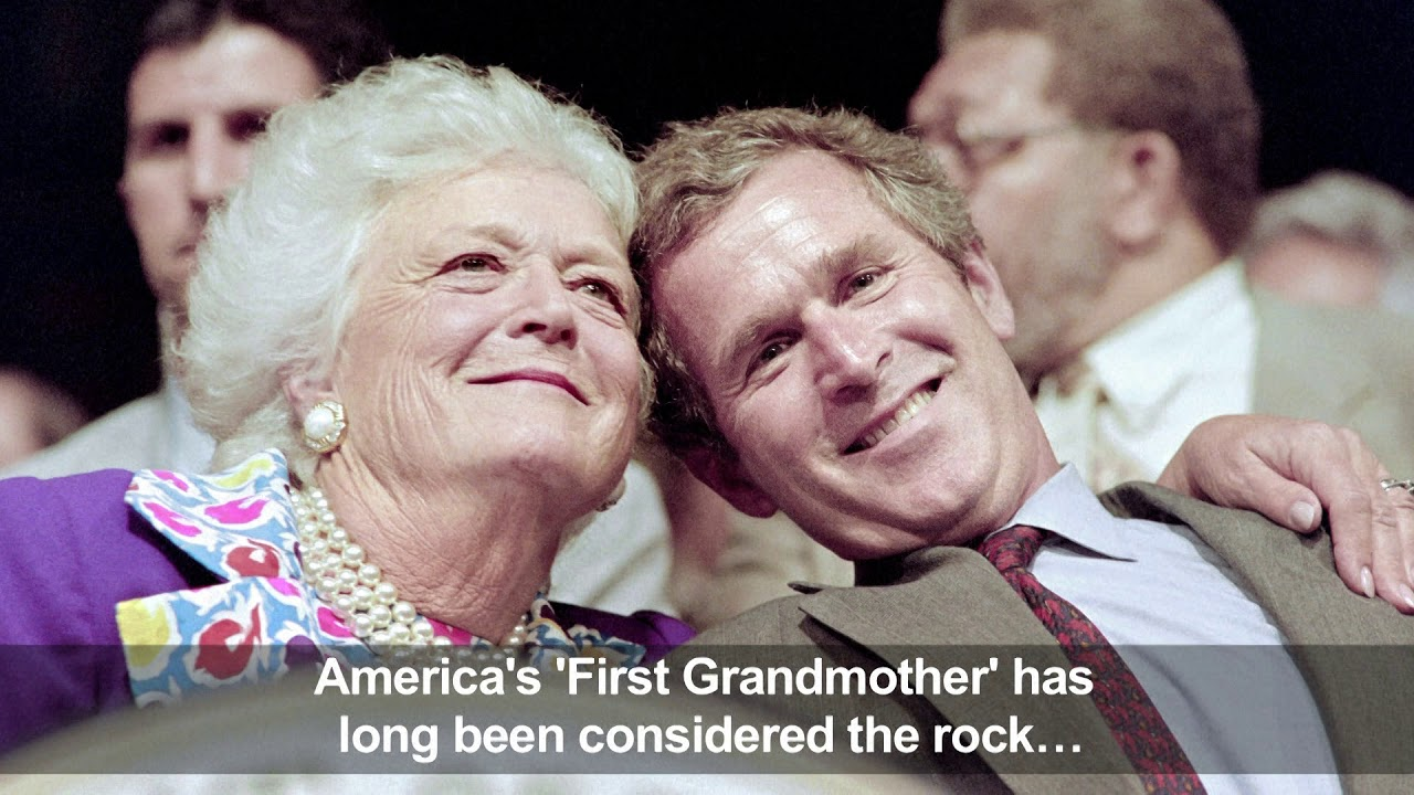 Image result for barbara bush youtube