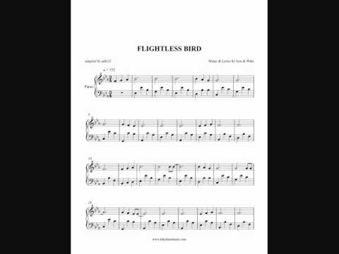 Flightless Bird - Iron & Wine (Piano Cover) by Aldy Santos