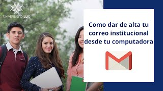 Como dar de alta tu correo institucional en tu computadora (Gmail)
