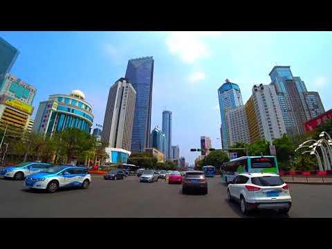 Stunning Shenzhen China DJI+Sony Full HD 深圳路拍+航拍