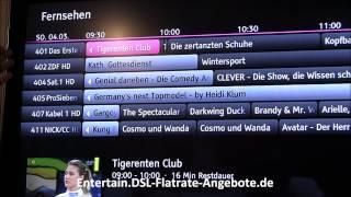 HD Fernsehen mit Telekom Entertain DSL 16000 / VDSL 16 Anschluss - Umstellen Media Receiver 303