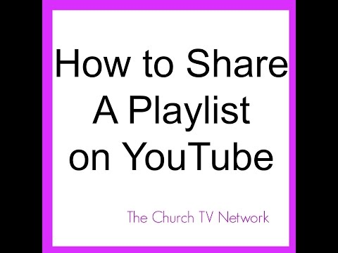How to Share Playlist On YouTube