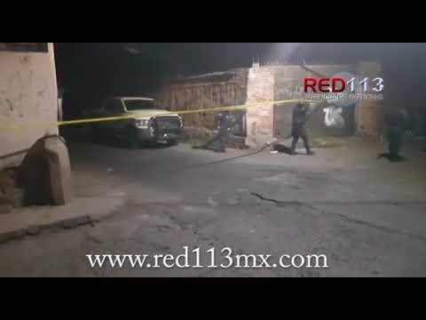 Se enfrentan a tiros dos hombres en el Centro de Jacona; ambos mueren