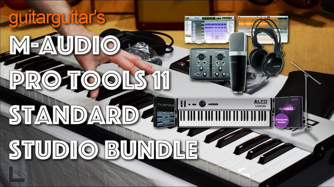 GUITARGUITAR'S M-Audio Pro Tools 11 Studio Bundle - What's Inside?