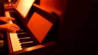 California King Bed (rihanna) On Piano