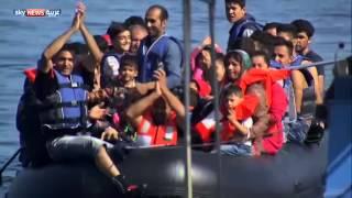 أوضاع كارثية للاجئين في جزيرة ليسبوس