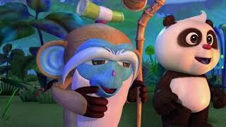 Кротик и Панда - Вечеринка для Кротика - серия 2 - развивающий мультфильм для де
