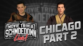 Star Wars Title Match - Live from Chicago! Alex Damon VS Joseph Scrimshaw - Movie Trivia Schmoedown