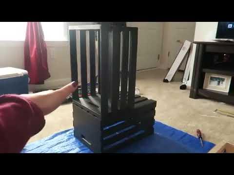 Cara buat meja ruang tamu dari kayu palet  YouTube