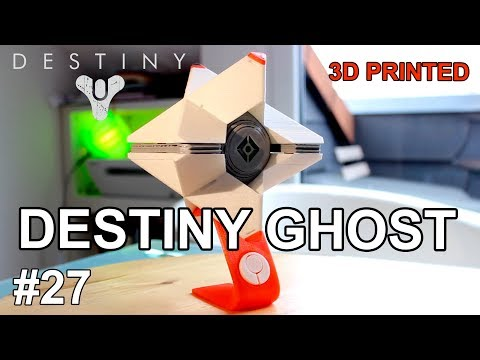 DESTINY GHOST 3D Printed Model