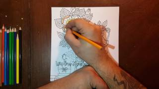 ASMR Coloring and Talking About the Apostles