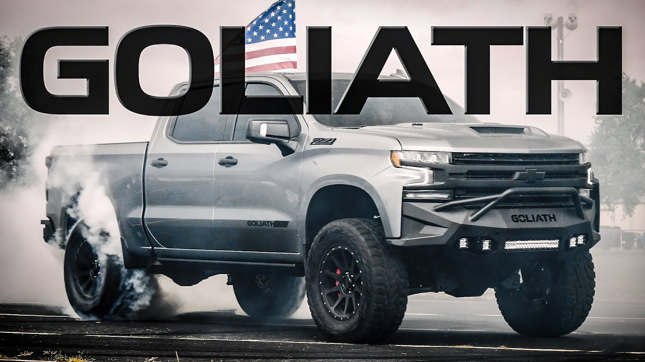 SUPERCHARGED 2020 SILVERADO! // GOLIATH 700 by Hennessey Performance