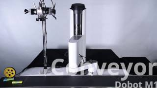 conveyor operation w computer vision dobot m1 professional robotic arm dobotarm