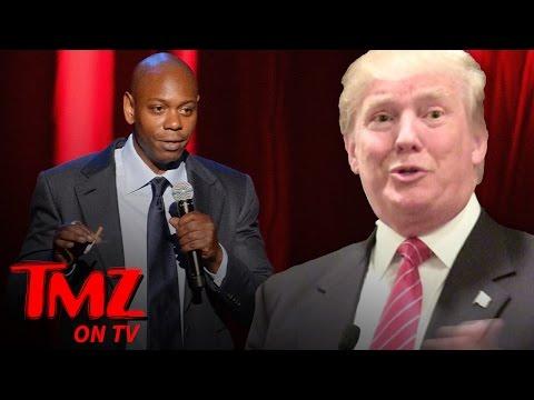 Dave Chappelle – Here's My $60 Mil Trump Impression | TMZ TV