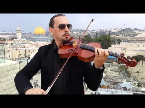 Adon Olam. Performance on the roof of the Aish HaTorah building in the old city of Jerusalem