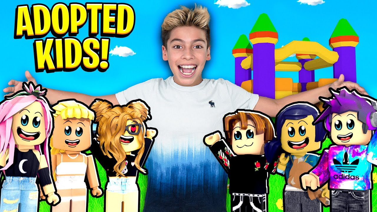 Download Ferran ADOPTS all the KIDS in The Neighborhood! 😱| Royalty Gaming