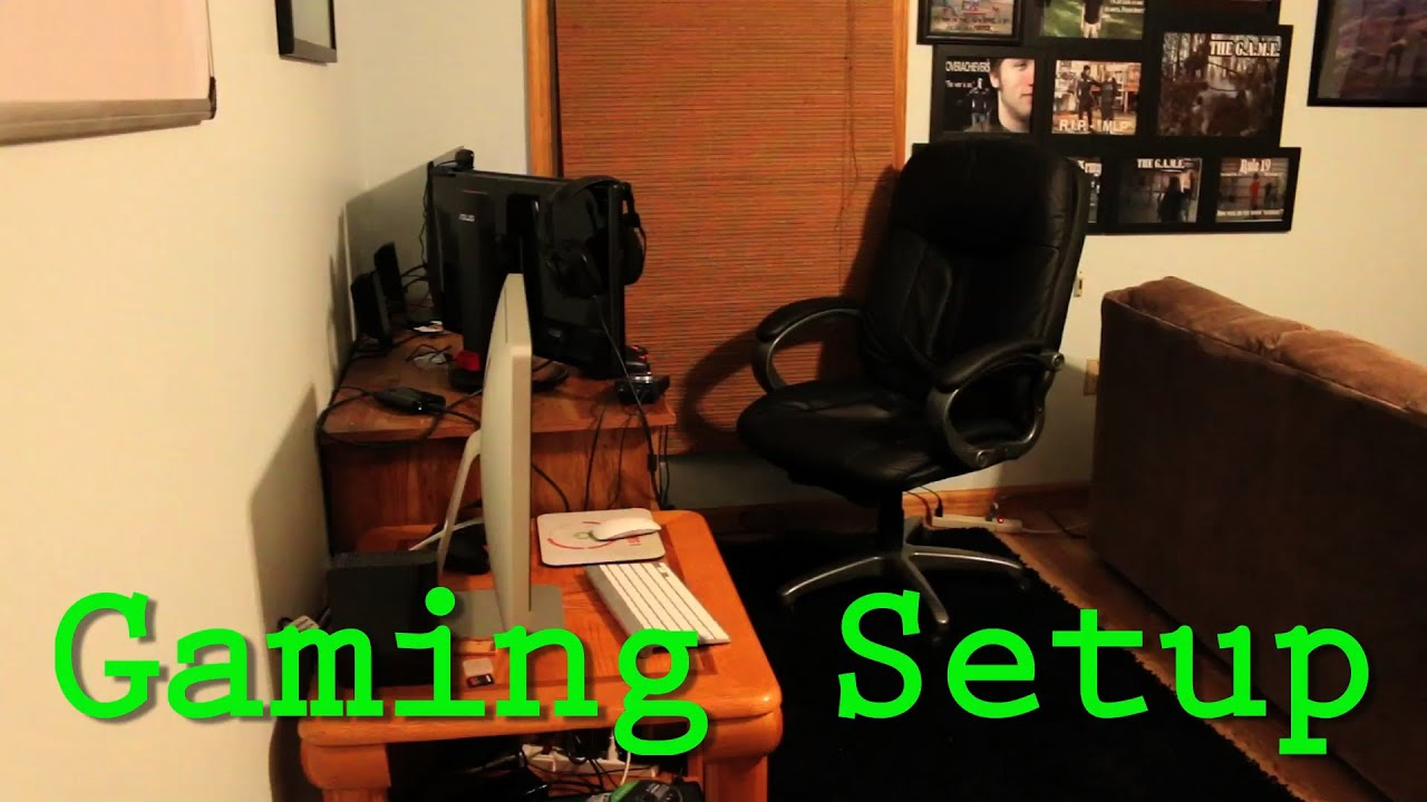 Gaming Setup Amp Room Tour Youtube