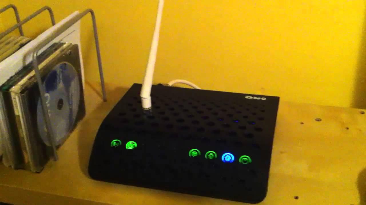 Solucion Antena Para Router Ono Facil Youtube