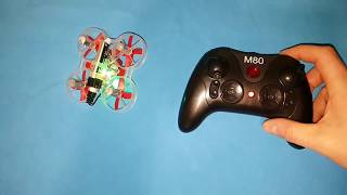 Eachine M80S review: Turtle Mode Test