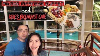 Weekend in Orlando Part 1 | Mikado Japanese Buffet | Keke's Breakfast Cafe | Dee Life with Yeobo