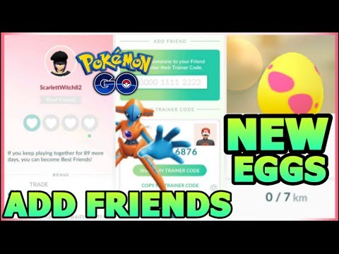 HOW TO ADD FRIENDS IN POKEMON GO | SEND GIFTS | CHANGE FRIEND ID | ALOLAN EGGS