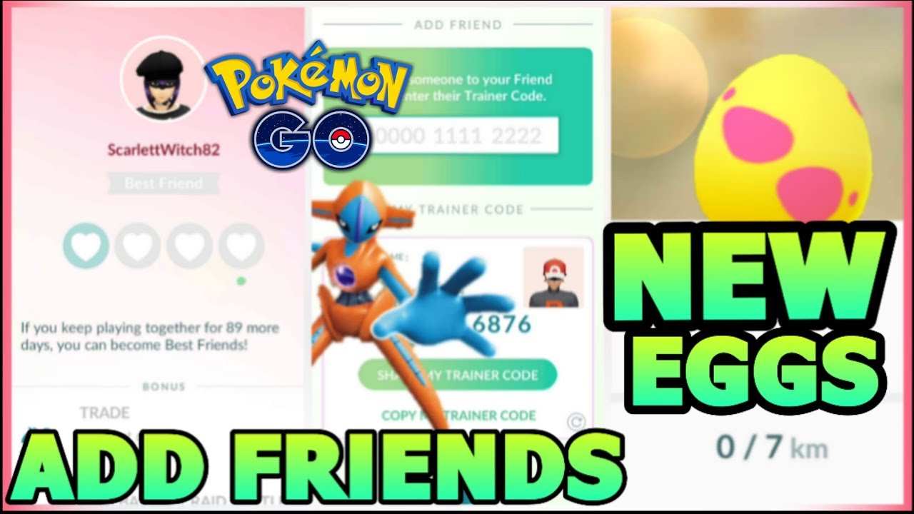 How To Add Friends In Pokemon Go Send Gifts Change