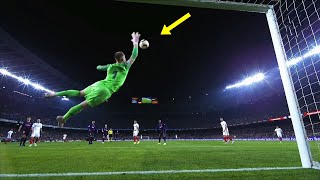 Impossible Goalkeeper Saves in Football