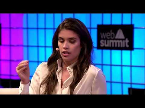 Sara Sampaio And Rosario Dawson At Web Summit - 11/9/17