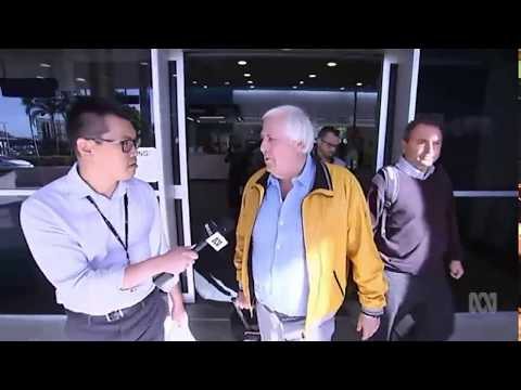 Clive Palmer makes surprise trip to Townsville to inspect Qld Nickel refinery