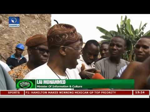 FG To Convert Fela's Family Home Into Museum |News Across Nigeria|