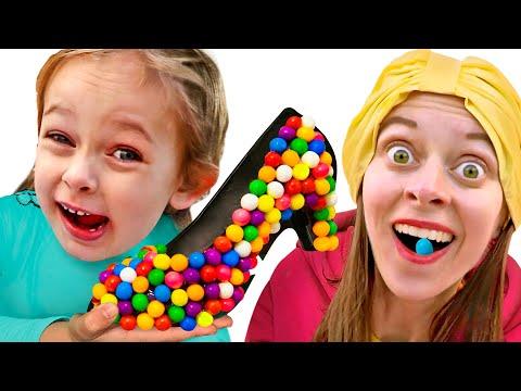 das-lied-über-schuhe-aus-süßigkeiten-|-deutsche-kinderlieder-maya-und-mary
