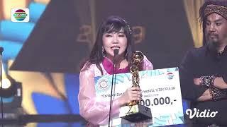 Via Vallen Dapatkan Penghargaan Kategori Penyanyi Dangdut Solo Wanita Terpopuler | IDA 2019