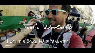 How I won the Gozo Half Marathon? - Gozo, Malta - VLOG #22