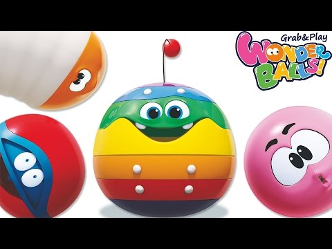 Meet The WonderBalls | WonderBalls Songs Collection | Funny Cartoon For Children
