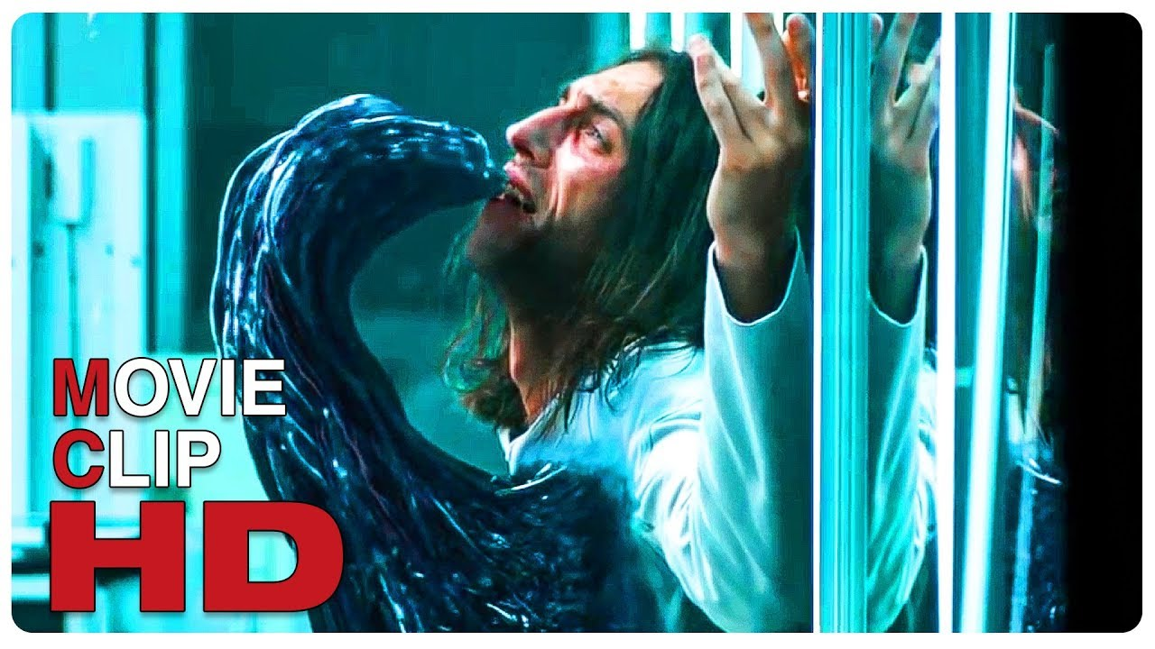 Venom Symbiote Test Scene + Trailer - VENOM (2018) Movie CLIP HD