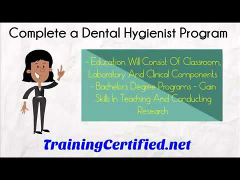 How To Become A Dental Hygienist - What Are The Steps?