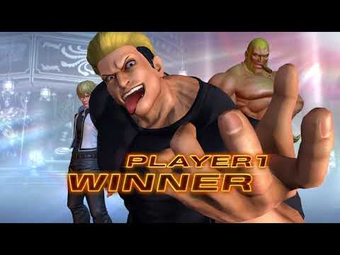 The King of Fighters XIV: Antonov Story Mode