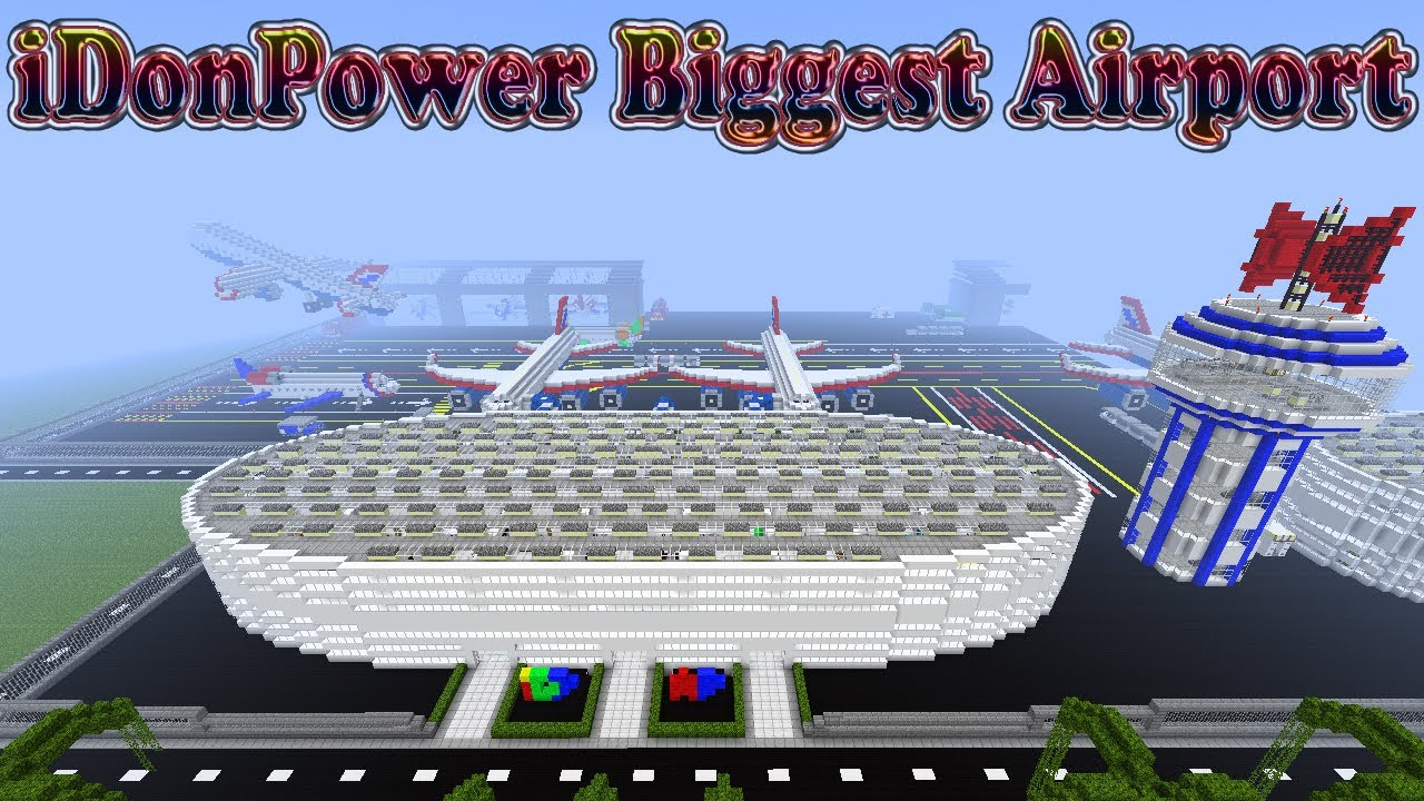 minecraft airport largest in - photo #4