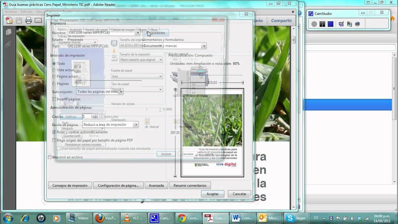 como imprimir doble cara pdf