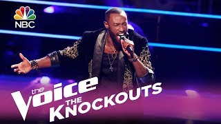 """The Voice 2017 Knockout - Stephan Marcellus: """"Impossible"""""""