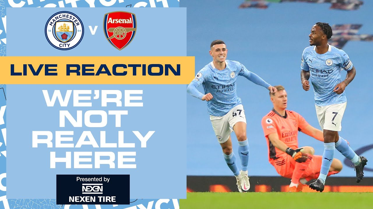 Full-time reaction | Man City 1-0 Arsenal | We're Not Really Here