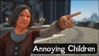 Skyrim: Top 5 Annoying Children That No One Can Stand in The Elder Scrolls 5: Skyrim